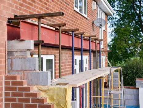 lintels and beams designed for structural support in wall openings