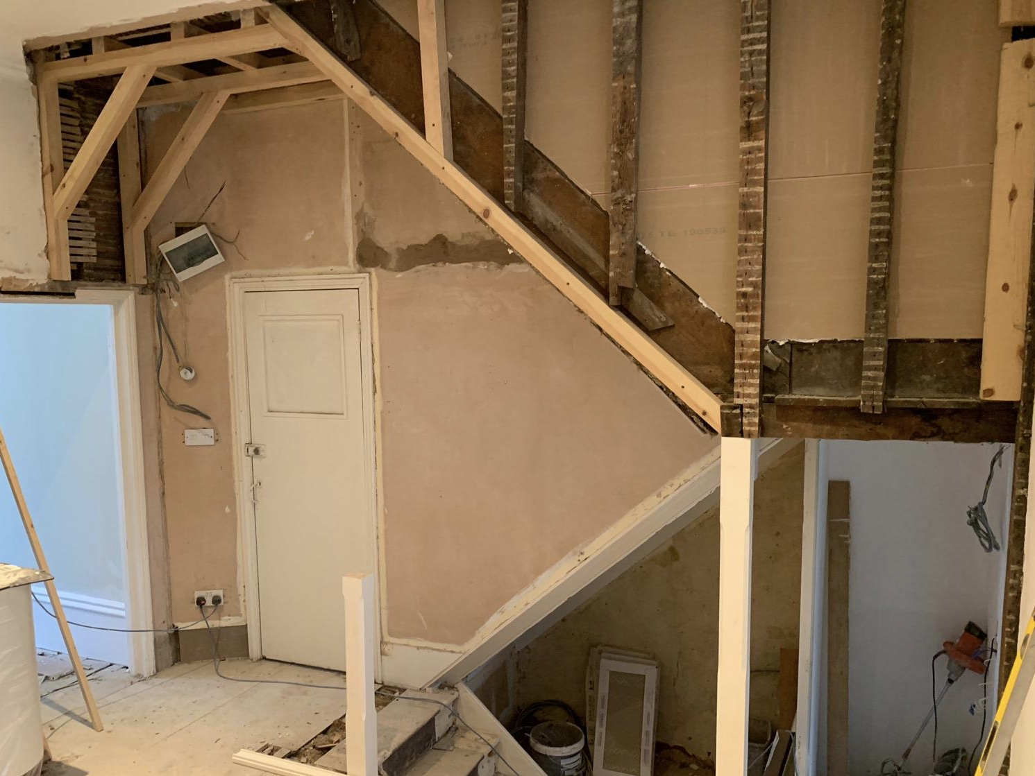 removal of staircase in a property